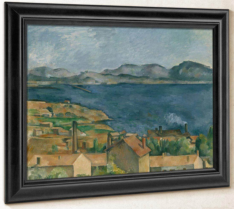 The Bay Of Marseilles Seen From Lestaque By Cezanne Paul