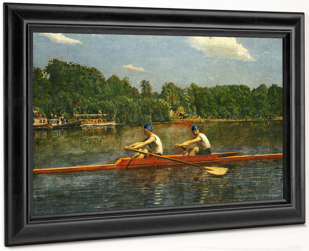 The Biglin Brothers Racing 1872 By Thomas Eakins