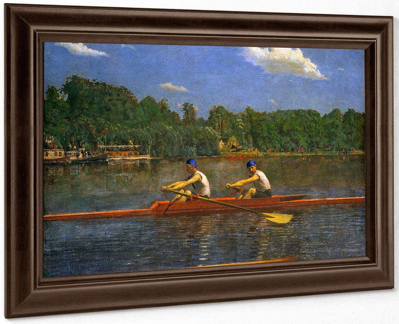 The Biglin Brothers Racing By Thomas Eakins