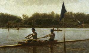 The Biglin Brothers Turning The Stake By Thomas Eakins