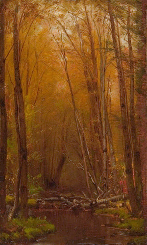 The Birches Of The Catskills By Worthington Whittredge
