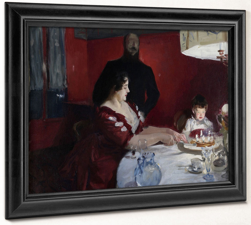 The Birthday Party By John Singer Sargent