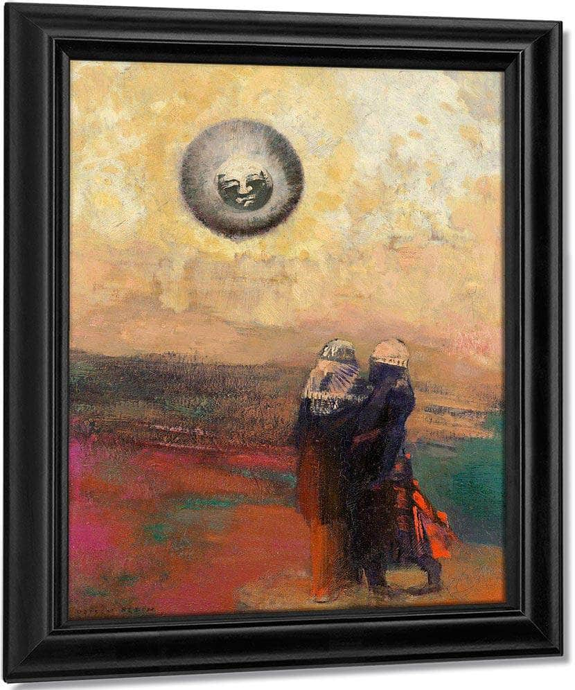 The Black Sun By Odilon Redon