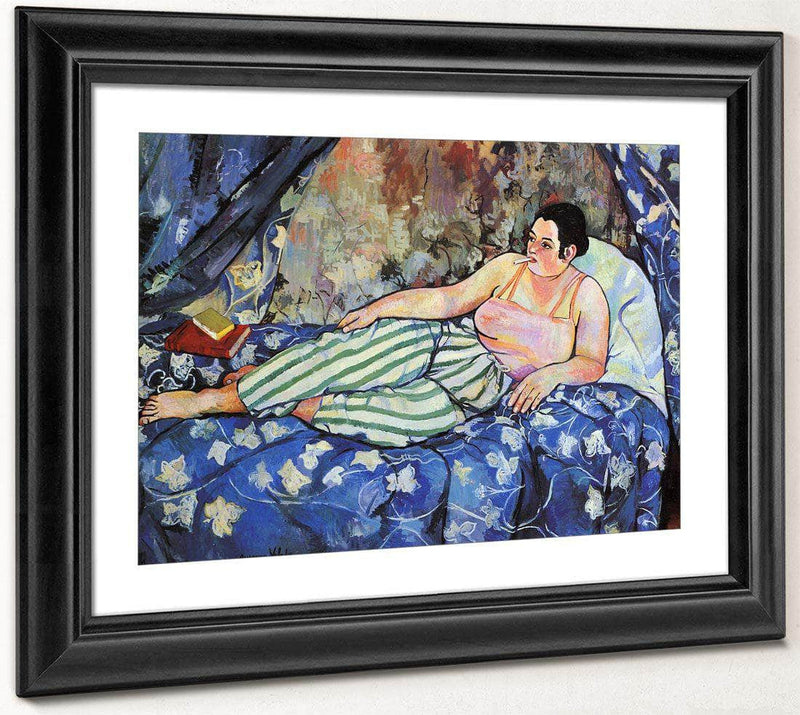 The Blue Room 1923 (1) By Suzanne Valadon
