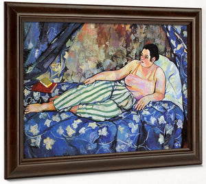 The Blue Room 1923 (2) By Suzanne Valadon