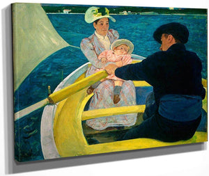 The Boating Party By Cassatt Mary