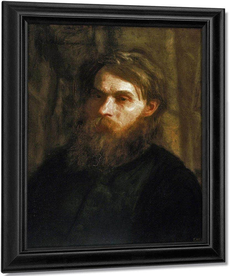 The Bohemian (Portrait Of Franklin Louis Schenk) By  Eakins Thomas