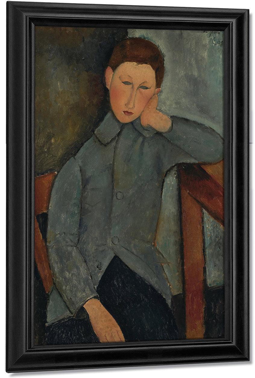 The Boy By Amedeo Modigliani