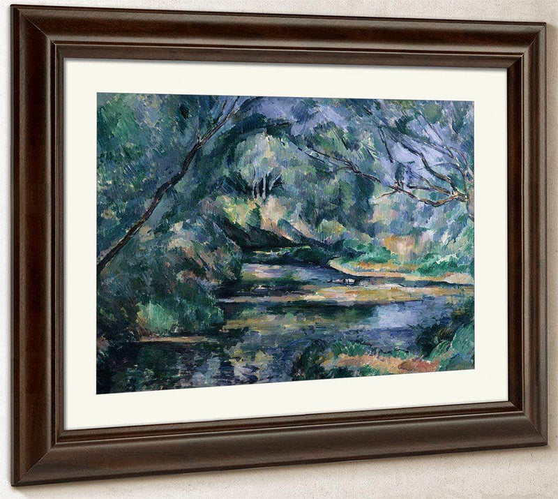 The Brook By Cezanne Paul