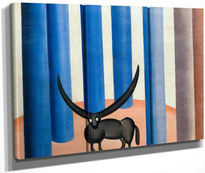 The Bull 1928 By Tarsila Do Amaral