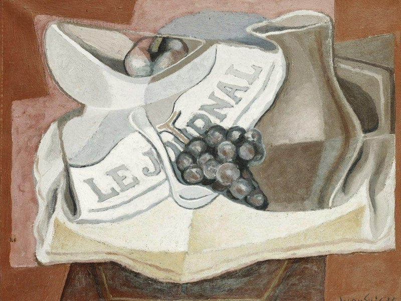 The Bunch Of Grapes By Juan Gris