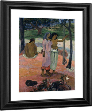 The Call (L'appel) By Paul Gauguin