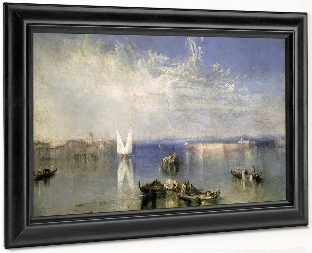 The Campo Santo Venice By Joseph Mallord William Turner