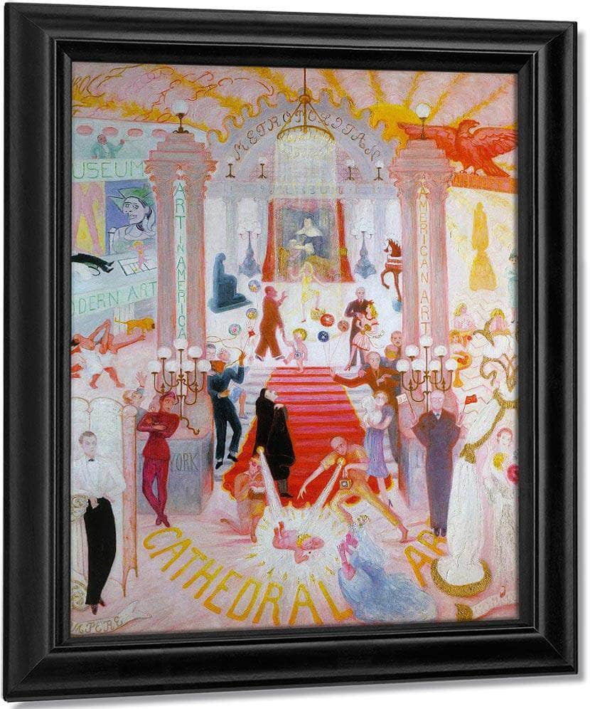 The Cathedrals Of Art Begun 1942 By Florine Stettheimer