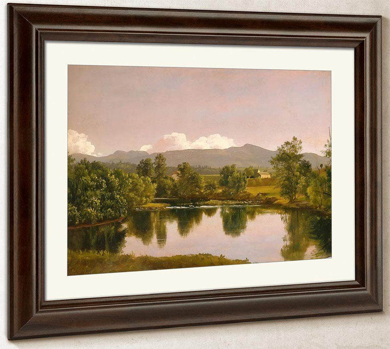 The Catskill Creek By Frederic Edwin Church