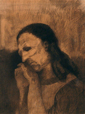 The Celt By  Redon, Odilon