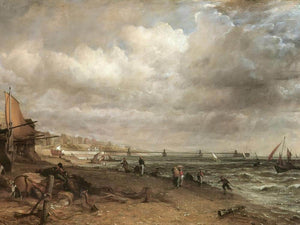 The Chain Pier Brighton By John Constable
