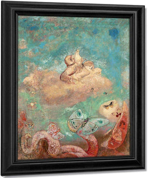 The Chariot Of Apollo By Odilon Redon