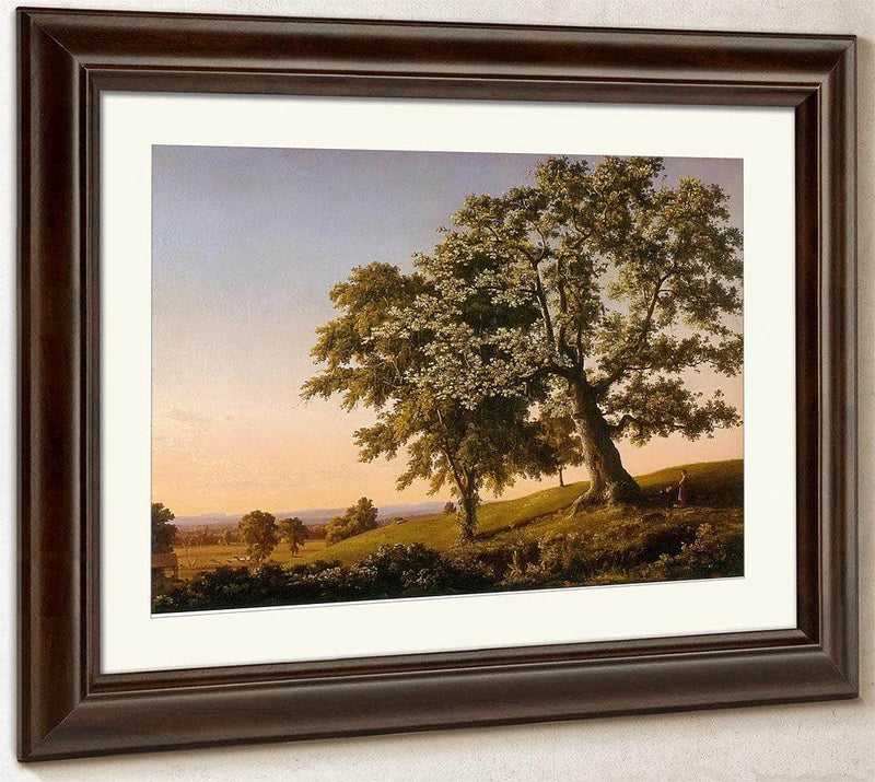 The Charter Oak By Frederic Edwin Church
