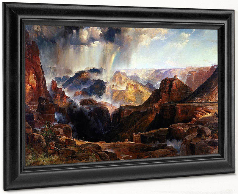 The Chasm Of The Colorado By Thomas Moran