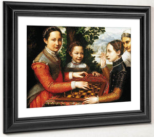 The Chess Game 1555 By Sofonisba Anguissola