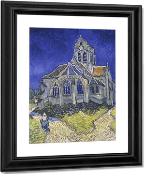 The Church In Auvers Sur Oise View From The Chevet By Vincent Van Gogh