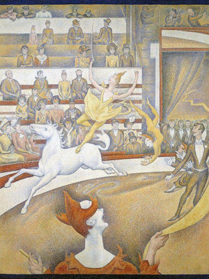 The Circus 1891 By Georges Seurat