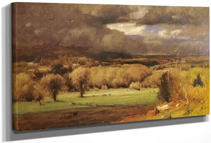 The Coming Storm By George Inness