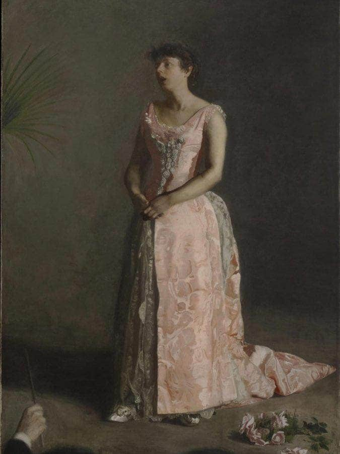 The Concert Singer 1892 By Thomas Eakins