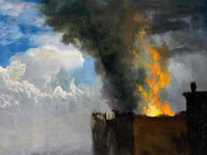 The Conflagration By  Bierstadt Albert
