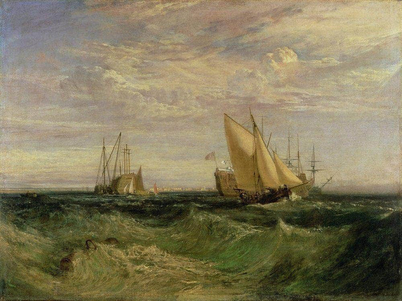 The Confluence Of The Thames And The Medway By Joseph Mallord William Turner