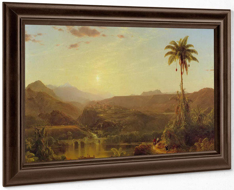 The Cordilleras Sunrise By Fredric Edwin Church