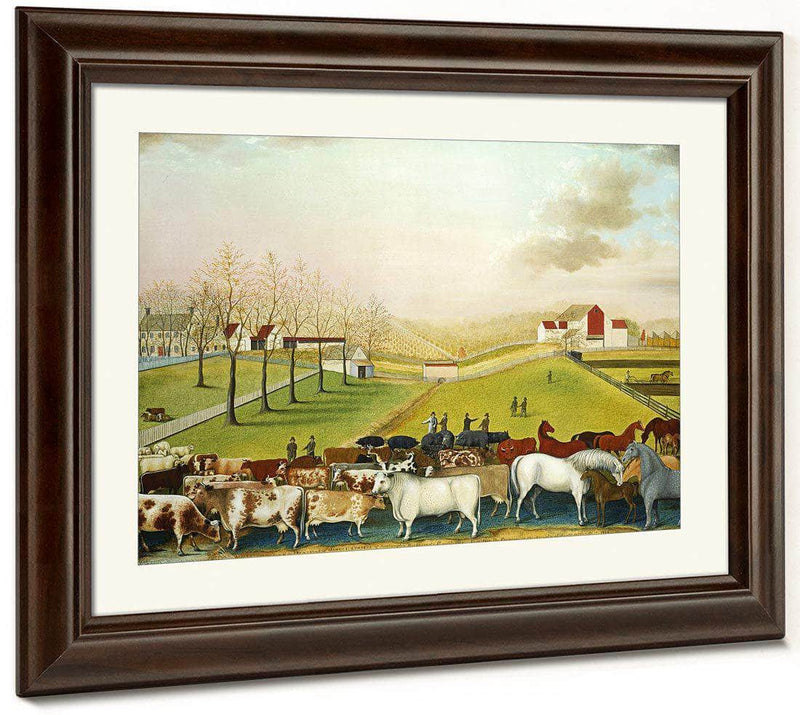 The Cornell Farm 1848 By Edward Hicks