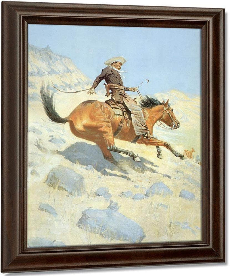 The Cow Boy By Frederic Remington