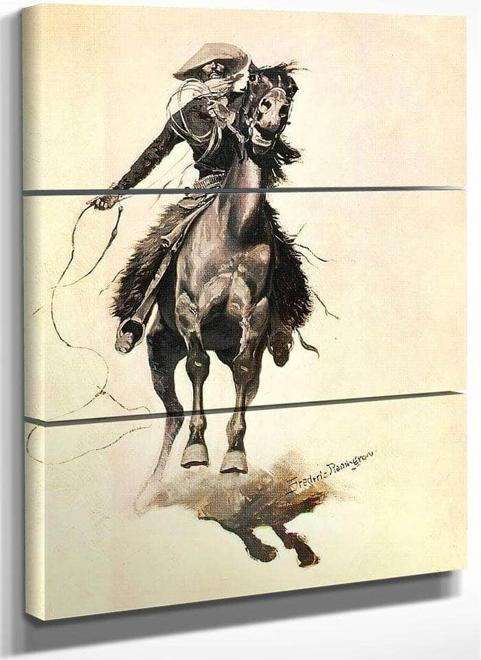 The Cow Puncher By Frederic Remington