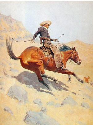 The Cowboy By Frederic Remington
