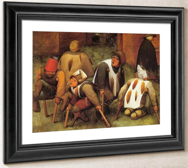 The Cripples 1568 By Pieter Bruegel