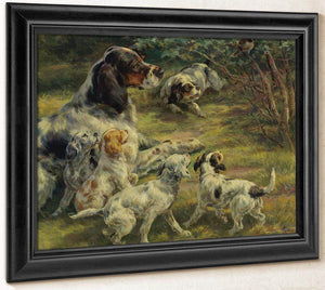 The Curious Pups By Edmund Henry Osthaus