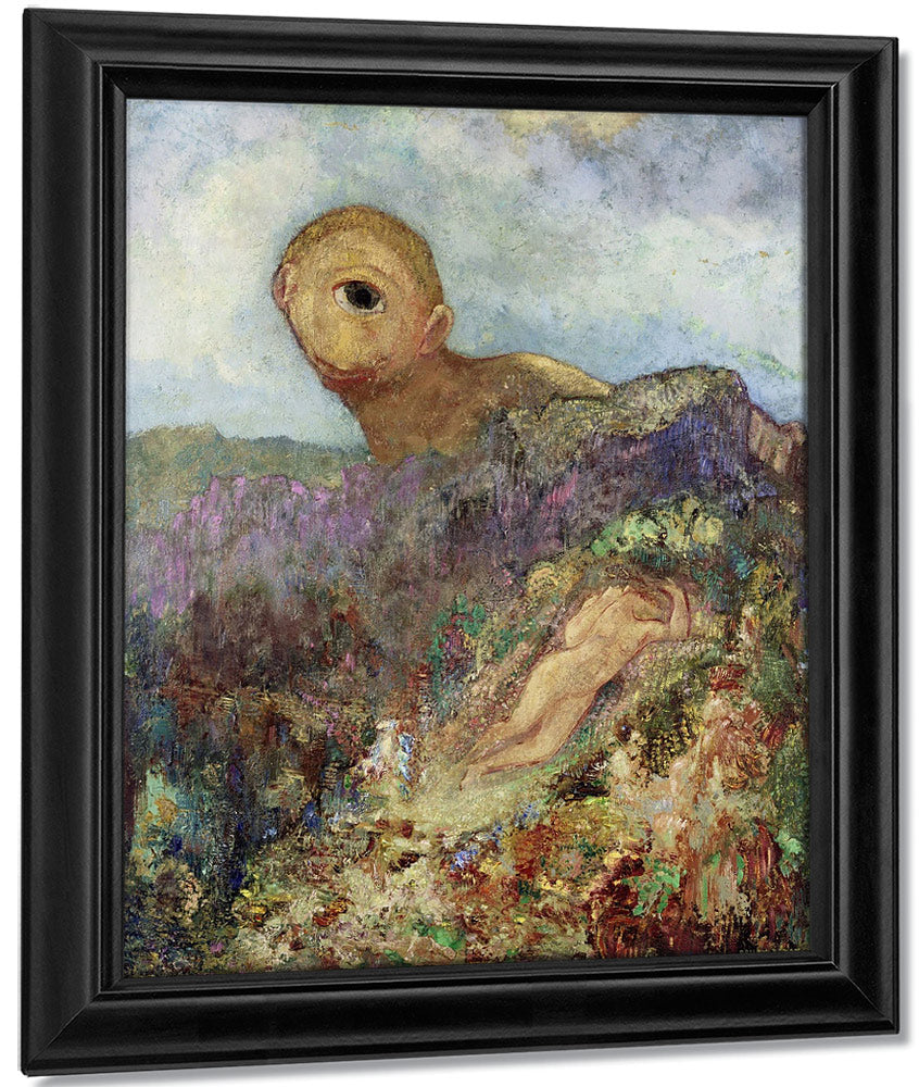 The Cyclops 1914 By Odilon Redon