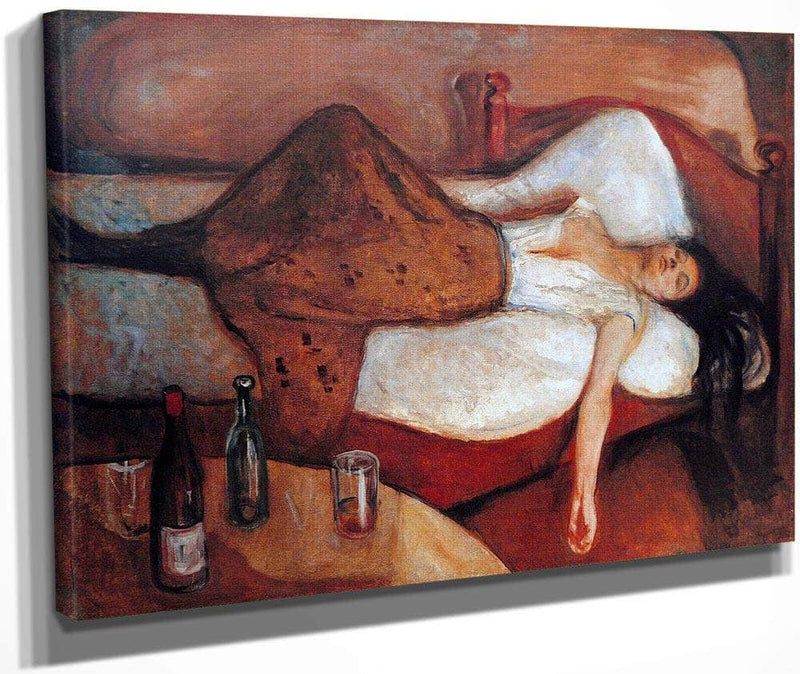 The Day After 1895 By Edvard Munch
