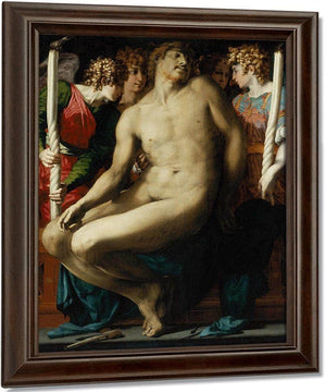 The Dead Christ With Angels By Rosso Fiorentino