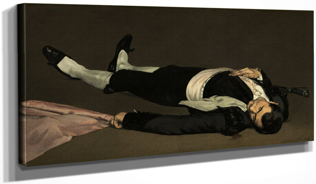 The Dead Toreador Edouard Manet