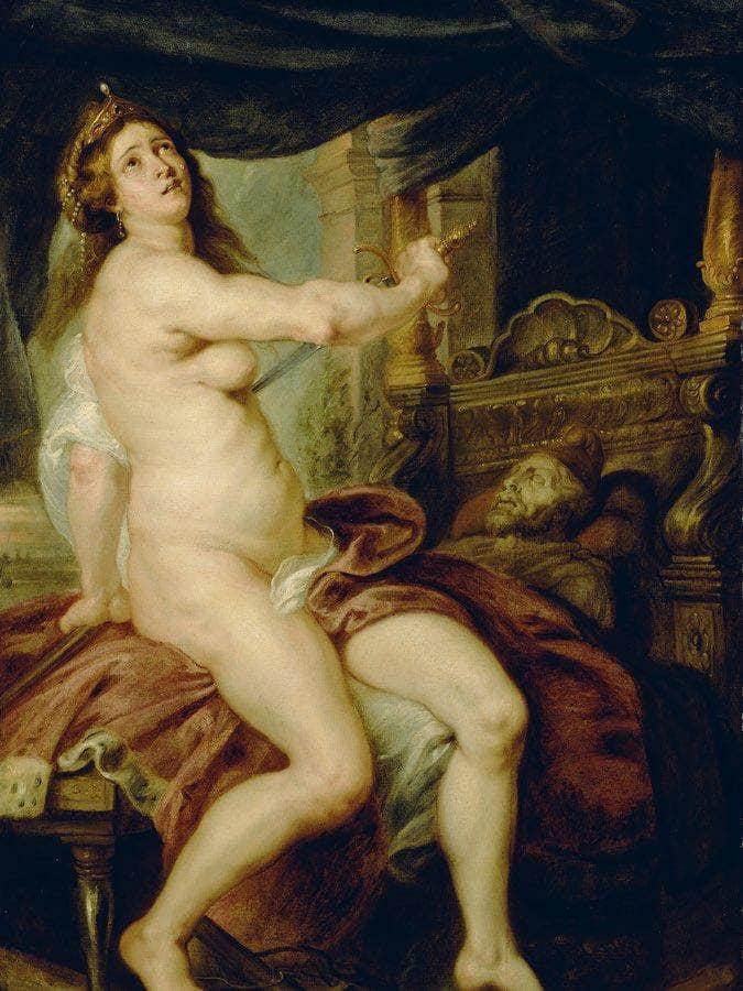 The Death Of Dido By Peter Paul Rubens
