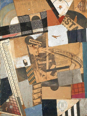 The Denaturalized Material Destruction 2 1923 By Theo Van Doesburg