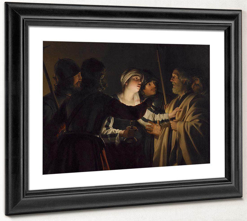 The Denial Of St. Peter By Gerrit Van Honthorst