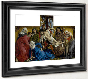 The Descent From The Cross 1438 By Rogier Van Der Weyden