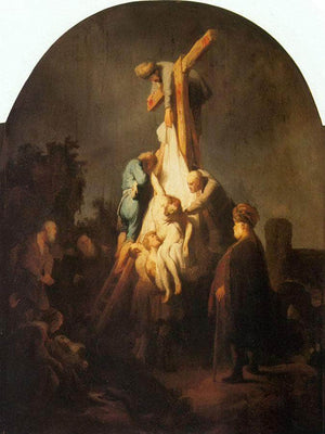 The Descent From The Cross By Rembrandt