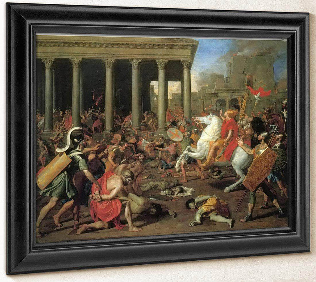 The Destruction Of The Temple Of Jerusalem Ii By Nicholas Poussin