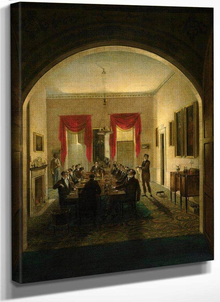 The Dinner Party By Henry Sargent