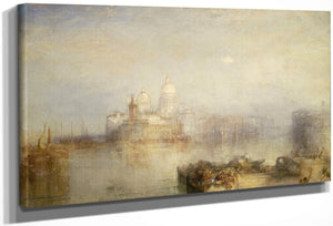 The Dogana And Santa Maria Della Salute Venice By Joseph Mallord William Turner